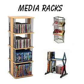 CD Racks and DVD Racks