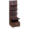 Nexera Eclipse Series Storage Tower (Espresso) 450406
