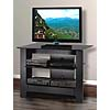 View a larger image of the Nexera Alpine Series 42 TV Stand Console in Textured Black Lacquer Finish 100206.