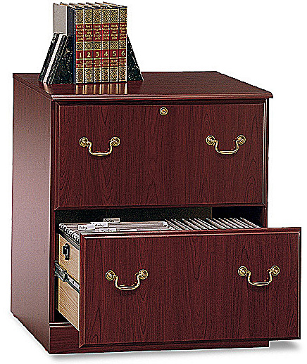 Bush Saratoga Executive Collection Lateral File Harvest