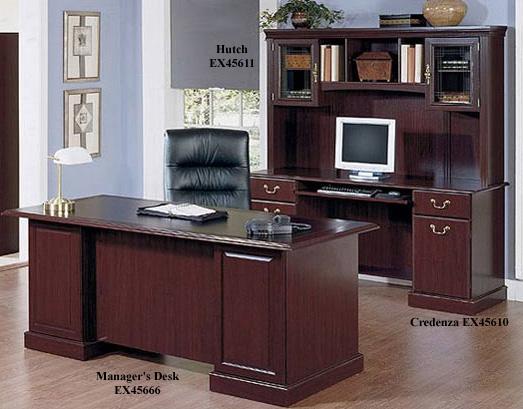 Bush Saratoga Executive Collection 66 Inch Manager S Desk