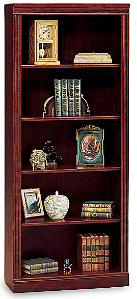 Bush Saratoga Executive Collection 5 Shelf Bookcase