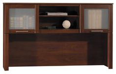 Bush Somerset Collection 60 inch Desk Hutch (Hansen Cherry) WC81731-03