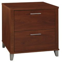 Bush Somerset Collection Lateral File Cabinet (Hansen Cherry) WC81780-03