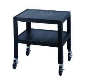 Lucasey Fully Constructed Mobile Cart With 2 Shelves CR24