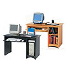 Prepac Sonoma Collection Computer Desk (Black or Maple) DD-2948