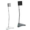 Sanus Home-Theater-in-a-Box Series Glass Base Adjustable Height Speaker Stands HTB-4