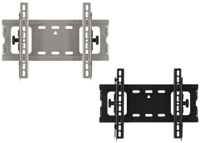 Black Mt25 B1 Sanus Visionmount Universal Tilting Wall