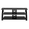 View a larger image of the Z-Line Designs Vitoria 3-Shelf Black Glass TV Audio Stand for 48-65 inch Screens ZL564-55SU.