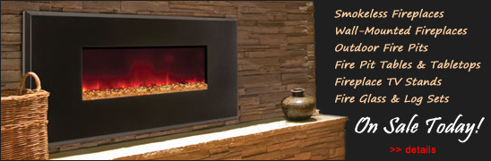electric fireplaces, wall mounted fireplaces, fireplace TV stands are on sale