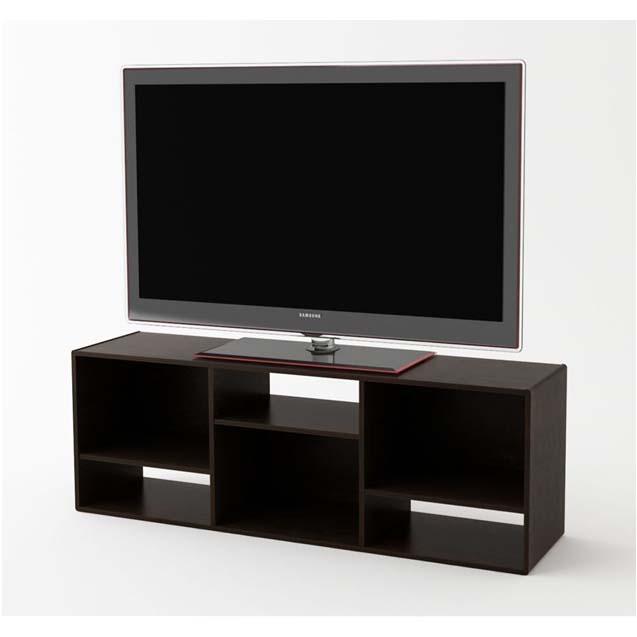 ameriwoood 60 inch bookcase tv stand black forest 1213012pcom. Black Bedroom Furniture Sets. Home Design Ideas
