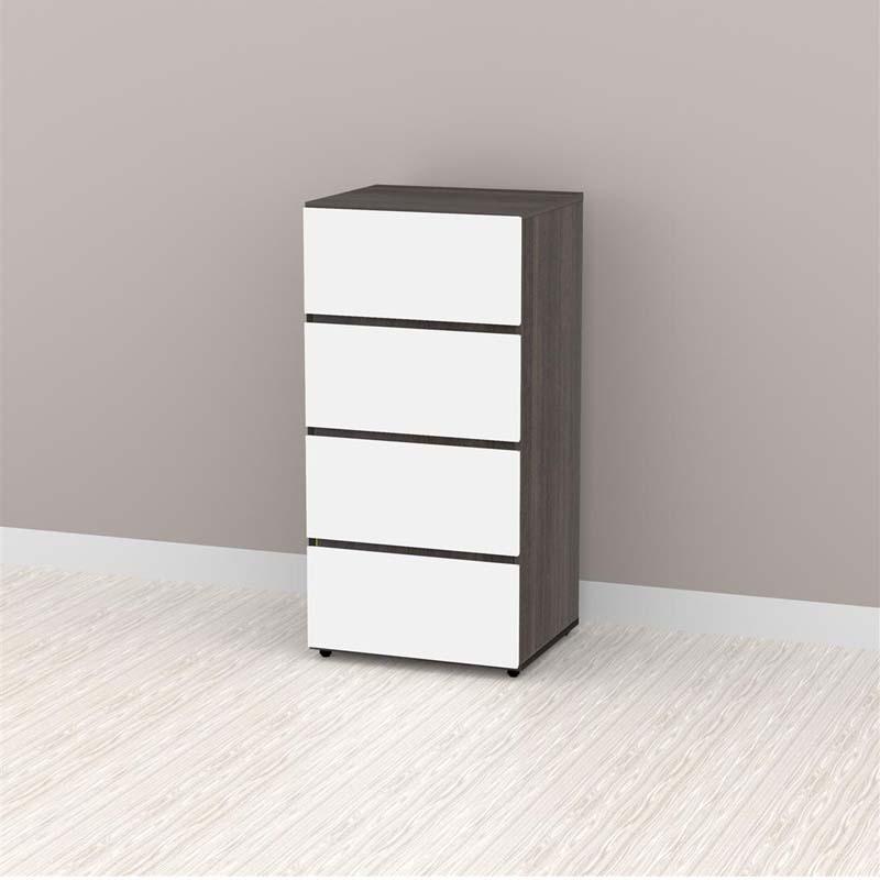 Nexera allure collection 36 in storage cabinet with three for Allure kitchen cabinets