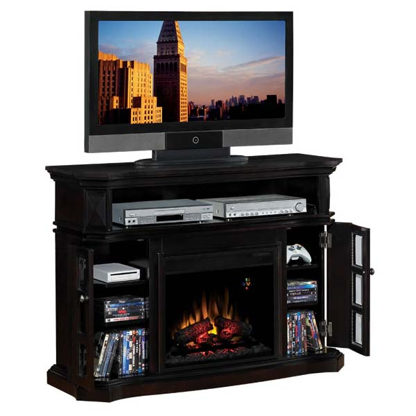 Classic Flame Bellemeade Entertainment Center with Electric Fireplace Insert Espresso 23MM774-E451 is on sale now. This TV Stand with integrated fireplace has a realistic flame effect that operates with or without heat for use in every season and adds ambiance to any room in the house. It is energy efficient