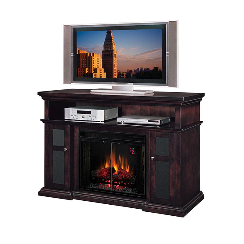 Classic Flame Pasadena Collection 60 Wide Media Mantel Electric Fireplace Espresso 28mm468 E721