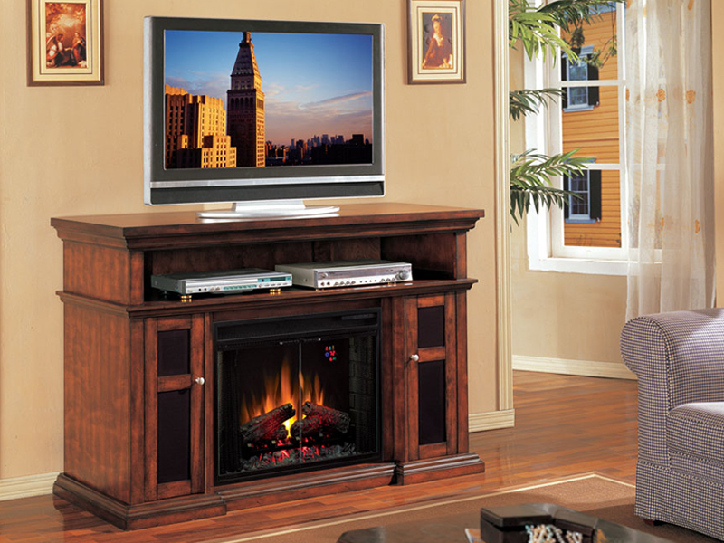 Classic Flame Pasadena Collection 60 Wide Media Mantel Electric ...