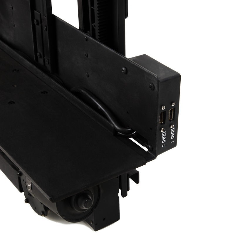 Tv lift cabinet 360 degree electric swivel tv mount 3700sw for Motorized tv lift with swivel