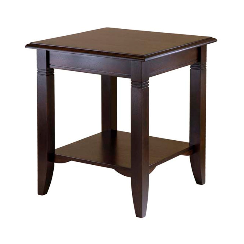 Winsome Wood Nolan End Table Cappucino 40220