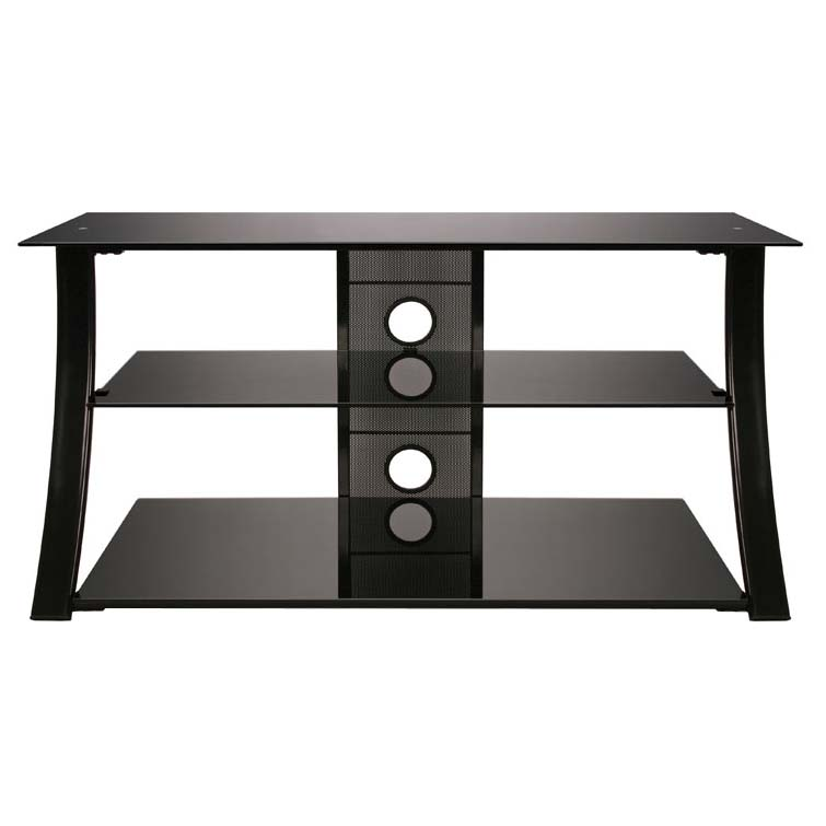 view a larger image of the bello high gloss black flat panel tv stand for 46 - Flat Panel Tv Stands