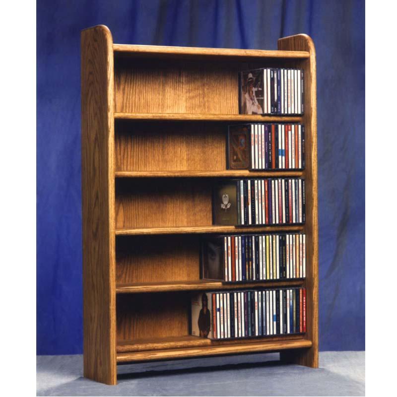 Wood Cd Cabinets ~ Wood shed solid oak cabinet cd rack tws