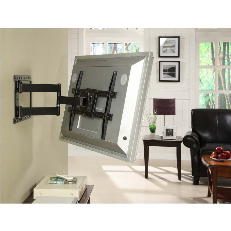 atlantic large articulating 37 to 64 tv wall mount black 63607068. Black Bedroom Furniture Sets. Home Design Ideas