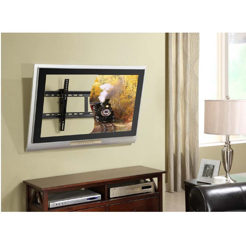 Wall Mount For 70 Tv Amazing Atlantic Large Tilting 37 To 70 Tv Wall Mount  Black