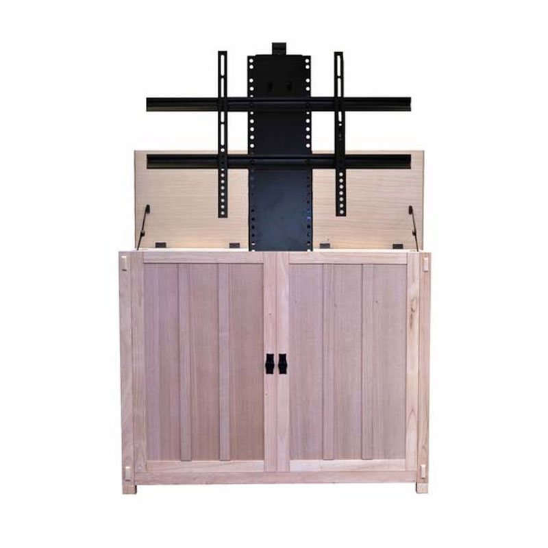 view a larger image of the touchstone elevate mission tv lift cabinet for