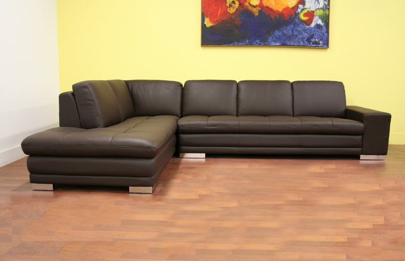 Wholesale Sectional Sofas - Orland Sectional Sofa Brown ...