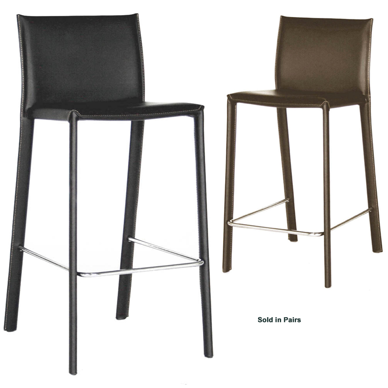 Wholesale Interiors Set of Two Leather Bar Stools Black or  : ALC1822A75main from www.standsandmounts.com size 800 x 800 jpeg 172kB