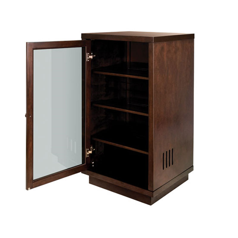 Bello No Tools Embly Wood Audio Video Cabinet Dark Espresso Atc402
