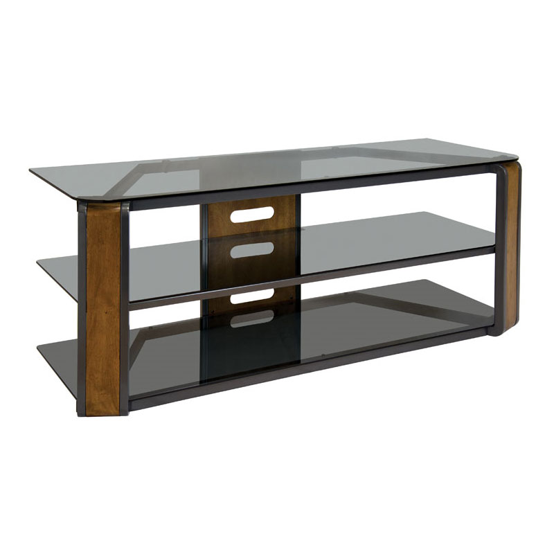 Bello Natural Finish Wood Tv Stand For Screens Up To 60