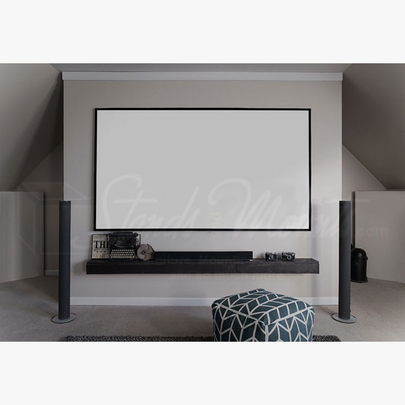 elite screens edge free aeon fixed frame projection screen ar100wh2