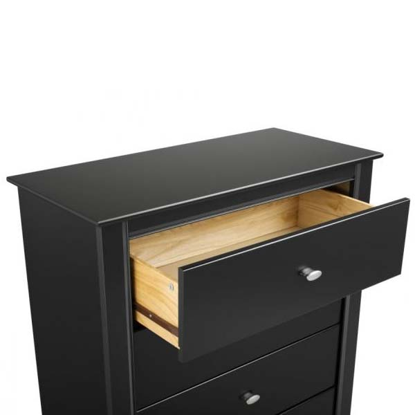 Prepac Kallisto Series 3 Drawer Night Stand Black Bdnh 0339 1