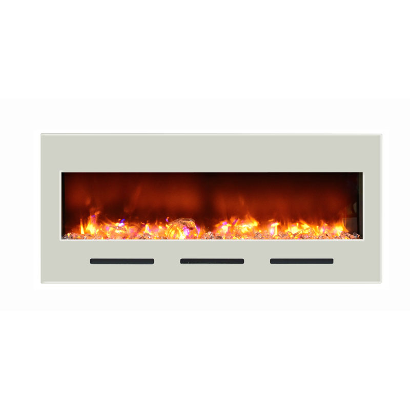amantii built in flush mount electric fireplace