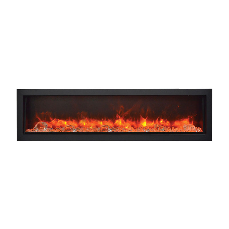 Amantii Bi 60 Deep Panorama 60 Inch Indoor Outdoor Electric Fireplace
