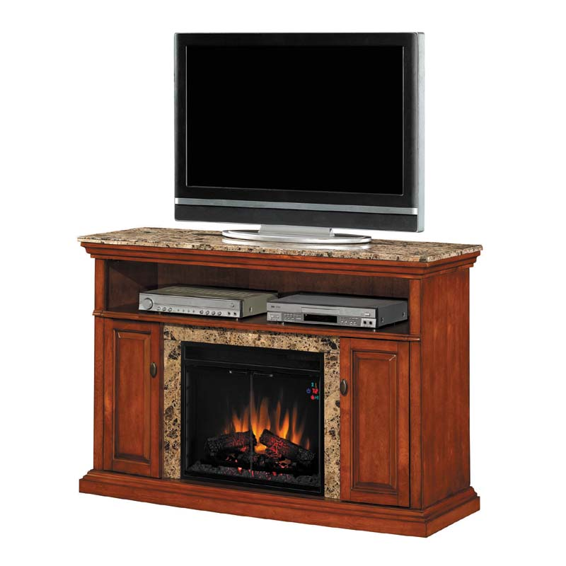 classic flame brighton tv stand with 23in electric