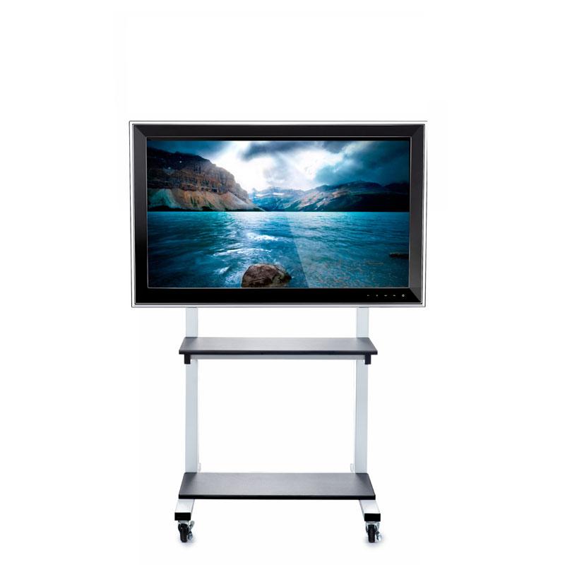 luxor crank adjustable tv cart for 3280 inch screens clcd