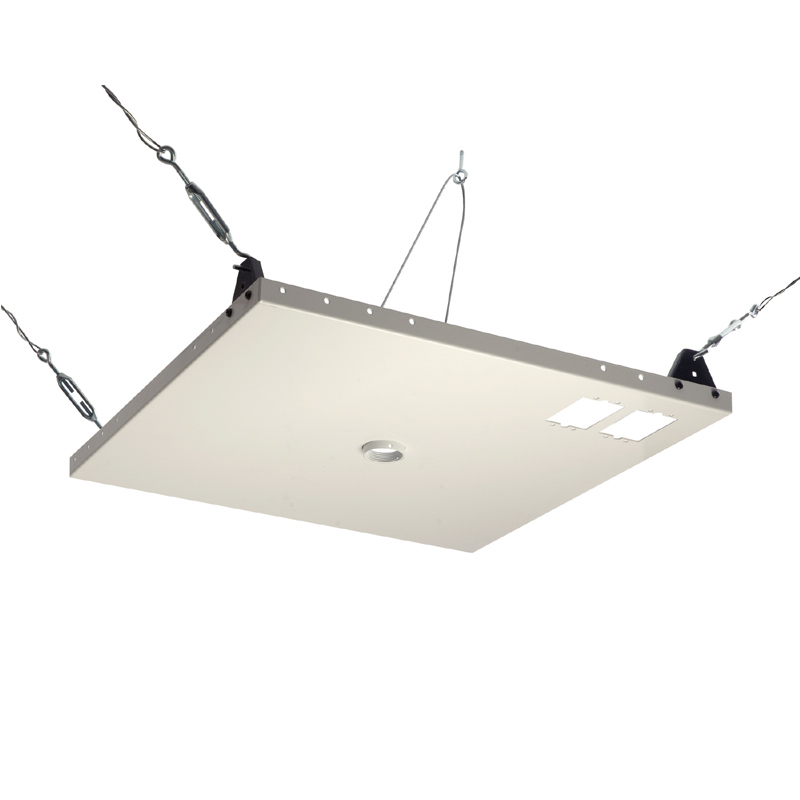 Peerless heavy duty 2x2 foot suspended ceiling plate for tv mounts peerless heavy duty 2x2 foot suspended ceiling plate for tv mounts cmj450 mozeypictures Image collections
