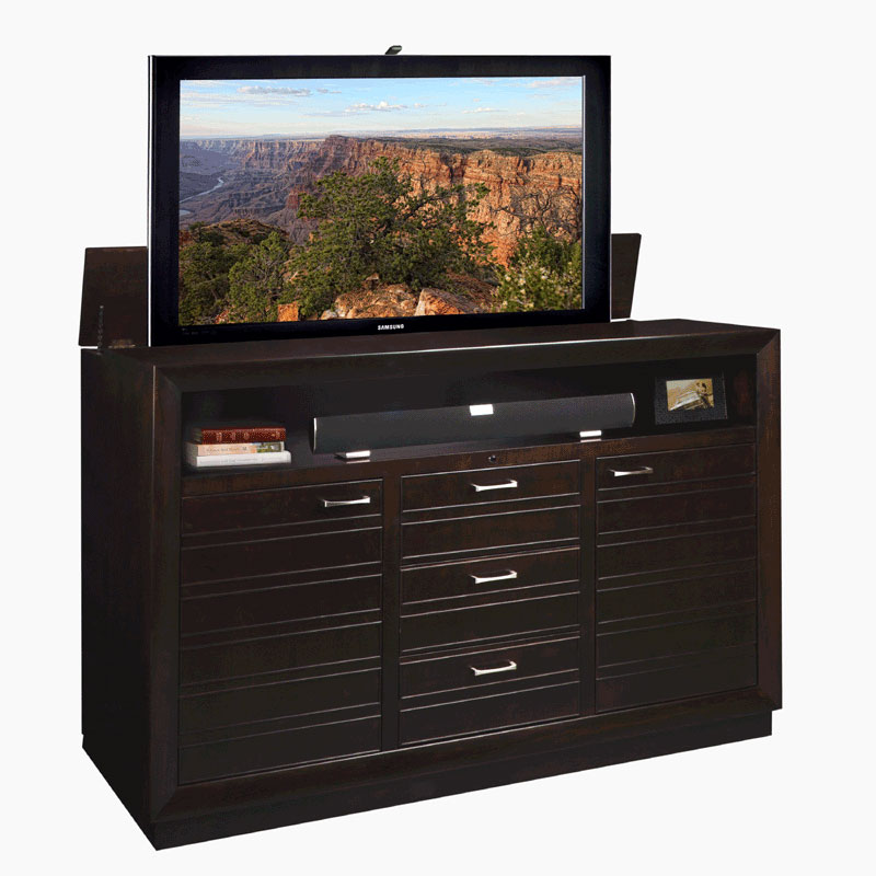 tv lift cabinet concord lift for 40 63 inch screens. Black Bedroom Furniture Sets. Home Design Ideas