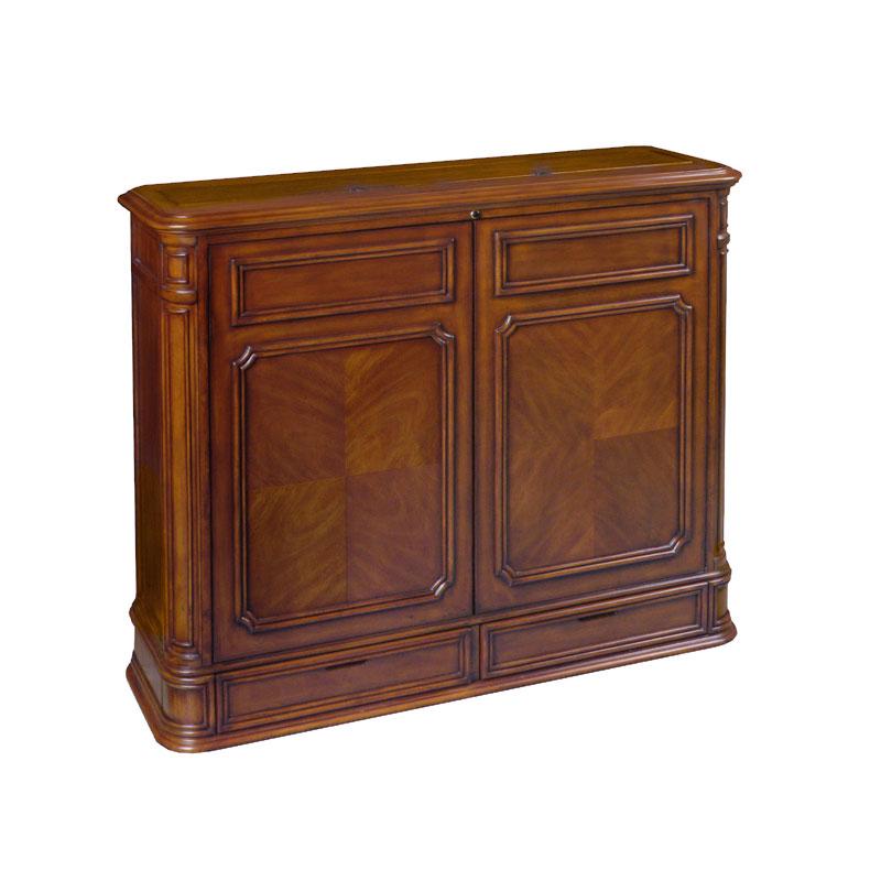 tv lift cabinet crystal pointe 360 swivel lift for 32 46. Black Bedroom Furniture Sets. Home Design Ideas