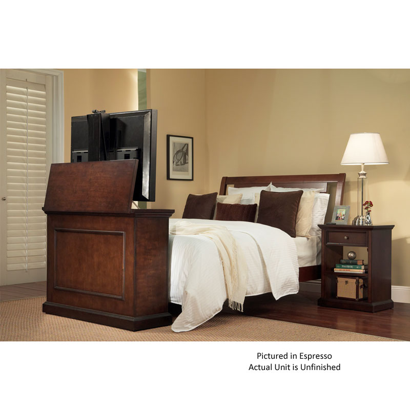 touchstone elevate end of bed or anyroom theater lift. Black Bedroom Furniture Sets. Home Design Ideas