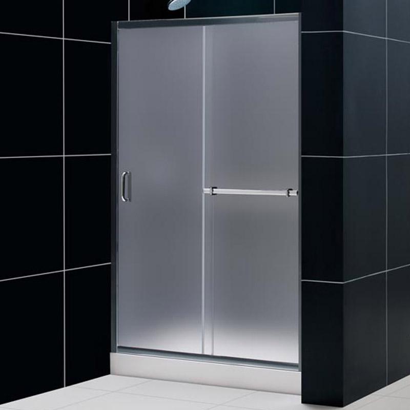 Dreamline Infinity Plus Sliding Glass Shower Door And Tray
