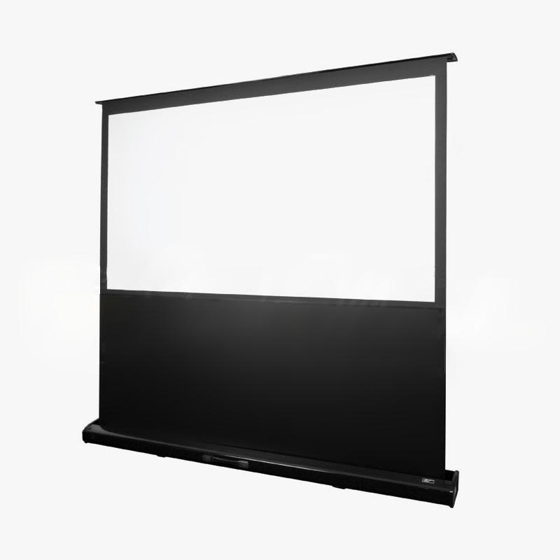 Elite screens kestrel series floor rising electric for Motorized floor up screen