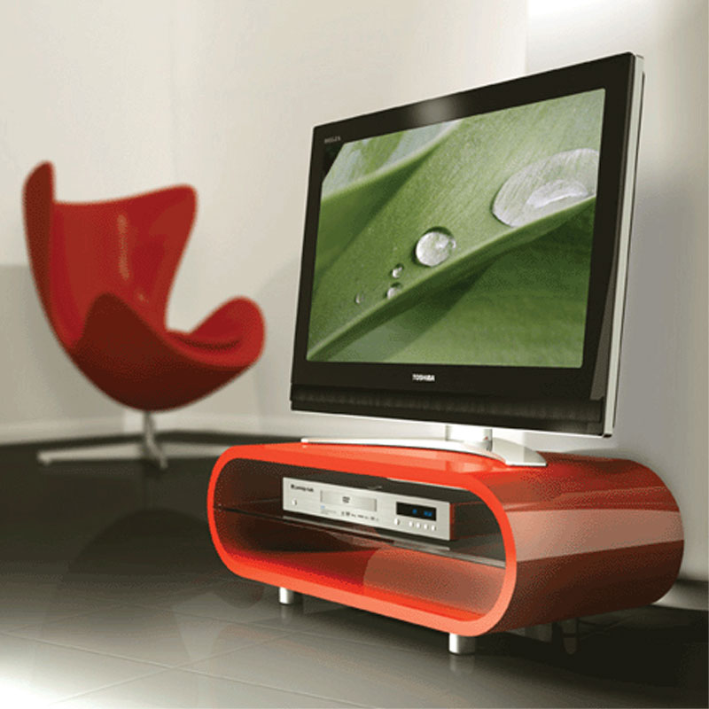 view a larger image of the techlink ovid flat screen tv stand for screens up to