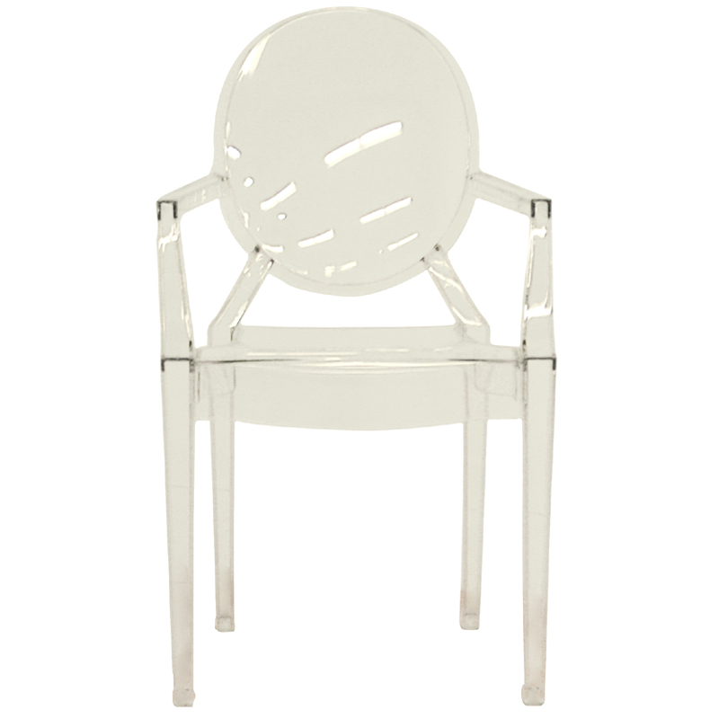 interiors set of two clear acrylic arm chairs clear pc 449 clear