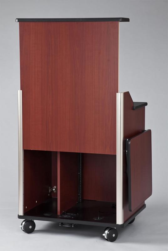 Vfi Avf Audio Visual Furniture Modern Podium With Rack