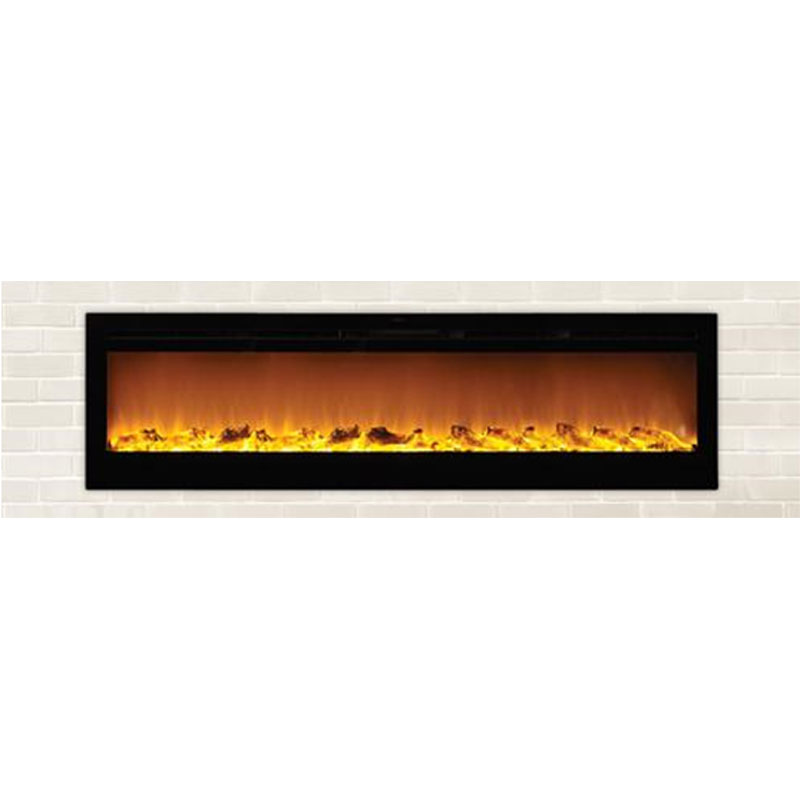 Fireplace Design touchstone fireplace : Touchstone Sideline 72 inch Wall Mounted Recessed Electric ...