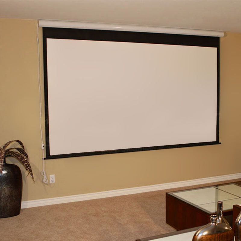 Elite screens spectrum 2 series electric projection screen for Elite motorized projector screen