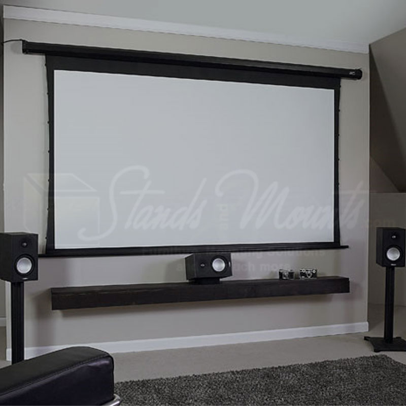 Elite screens spectrum tension series electric projection for Elite motorized projector screen
