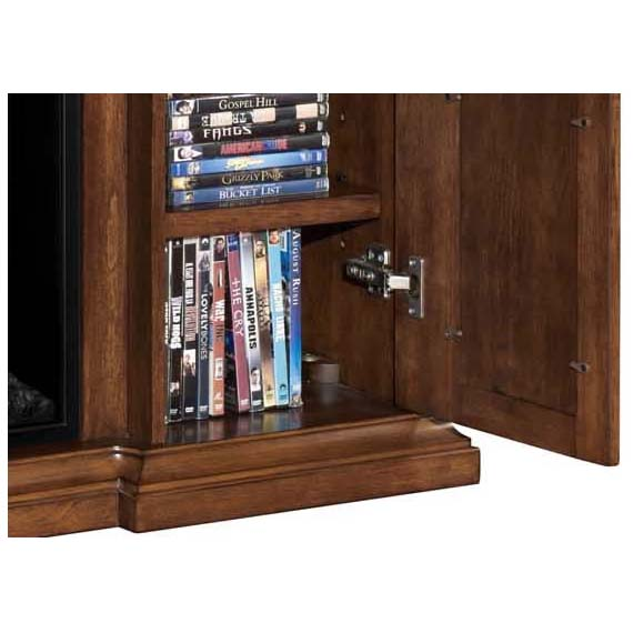 Sterling 56 Inch Tv Stand With Electric Fireplace Walnut 23im0468 W502