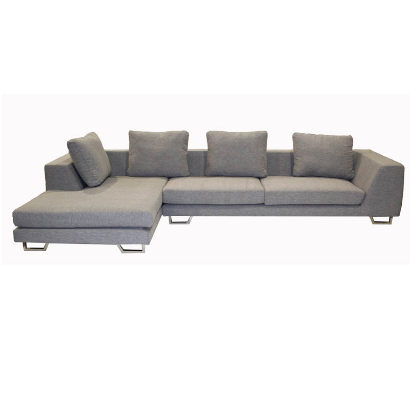 Wholesale Interiors 2 Piece Twill Sofa Sectional Grey Td6301 Mecue 03